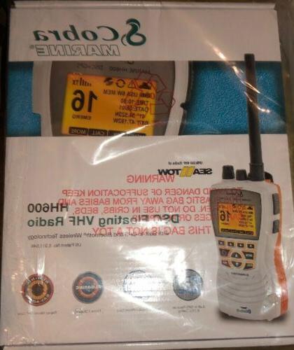cobra mr hh600w floating gps vhf radio