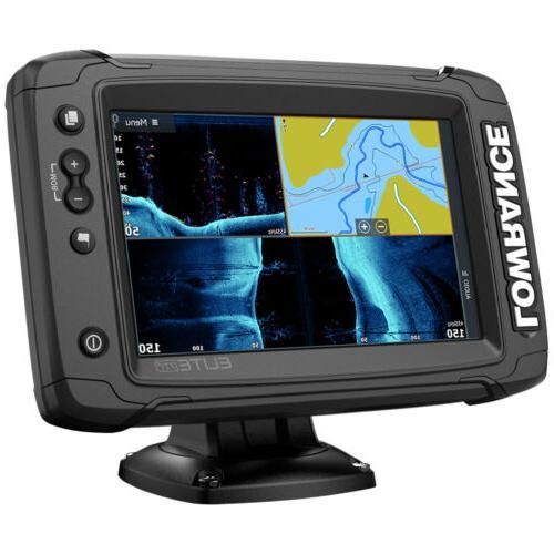 elite 7 ti2 active imaging fishfinder chartplotter