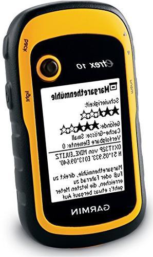 Garmin Handheld GPS - -
