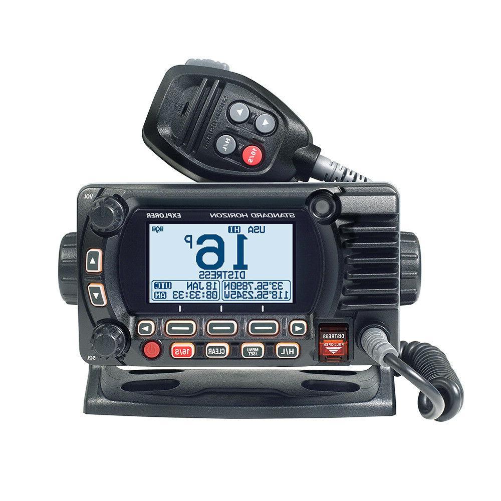 explorer gx1800gb marine boat vhf radio