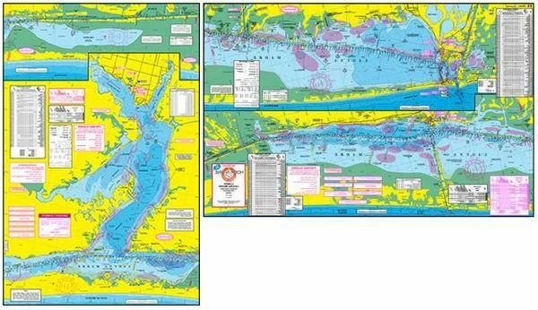 f115 fishing map for lower laguna madre