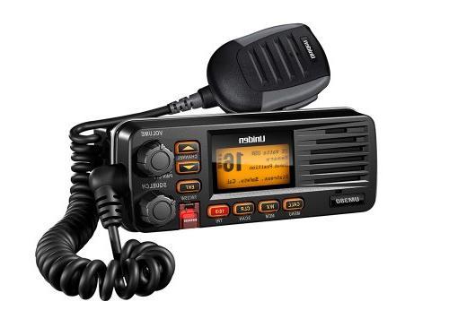 Full-Featured Marine Radio-Black