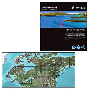 Platinum Plus Lake Ontario-Champlain Digital Marine Map