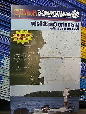Navionics Fishing Boating Map Chart GPS Points Guide Mosquit