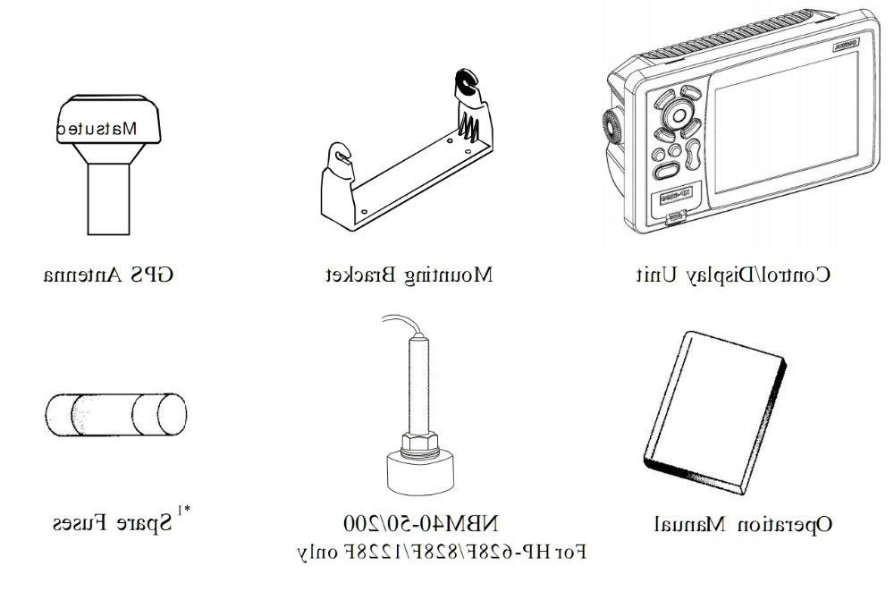 <font><b>Matsutec</b></font> HP-628F <font><b>MARINE</b></font> COLOR Plotter Sounder DUAL frequency 6 inch <font><b>GPS</b></font>/SBAS Antenna