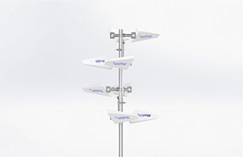 GigaMIMO MIMO/Dual Antenna for MOFI MOFI4500-4GXeLTE-SIM4-COMBO-GPS  Outdoor/Maritime Omnidirectional Ultra High Gain ±45° Pol Enclosed