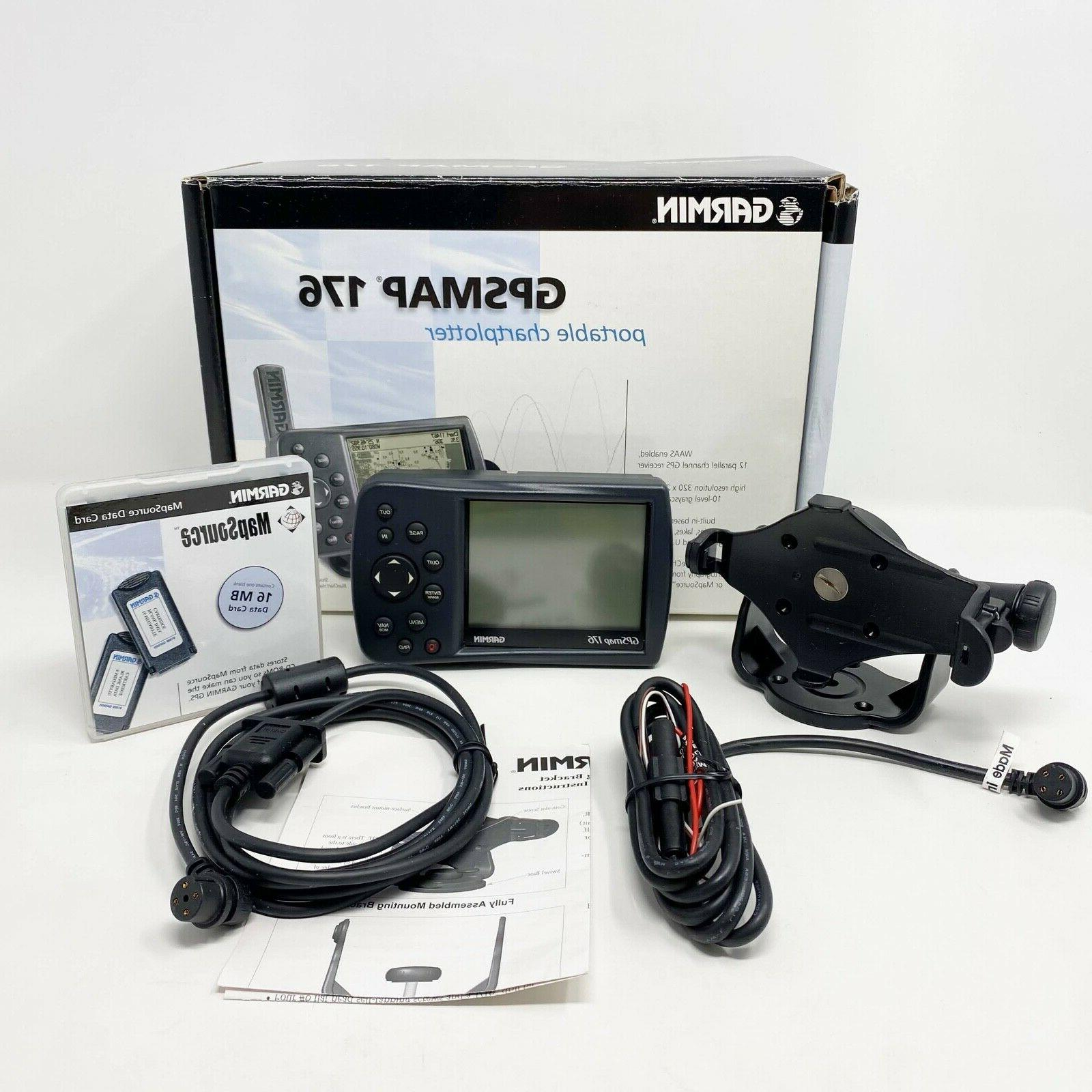 gps map 176 discontinued marine receiver tested