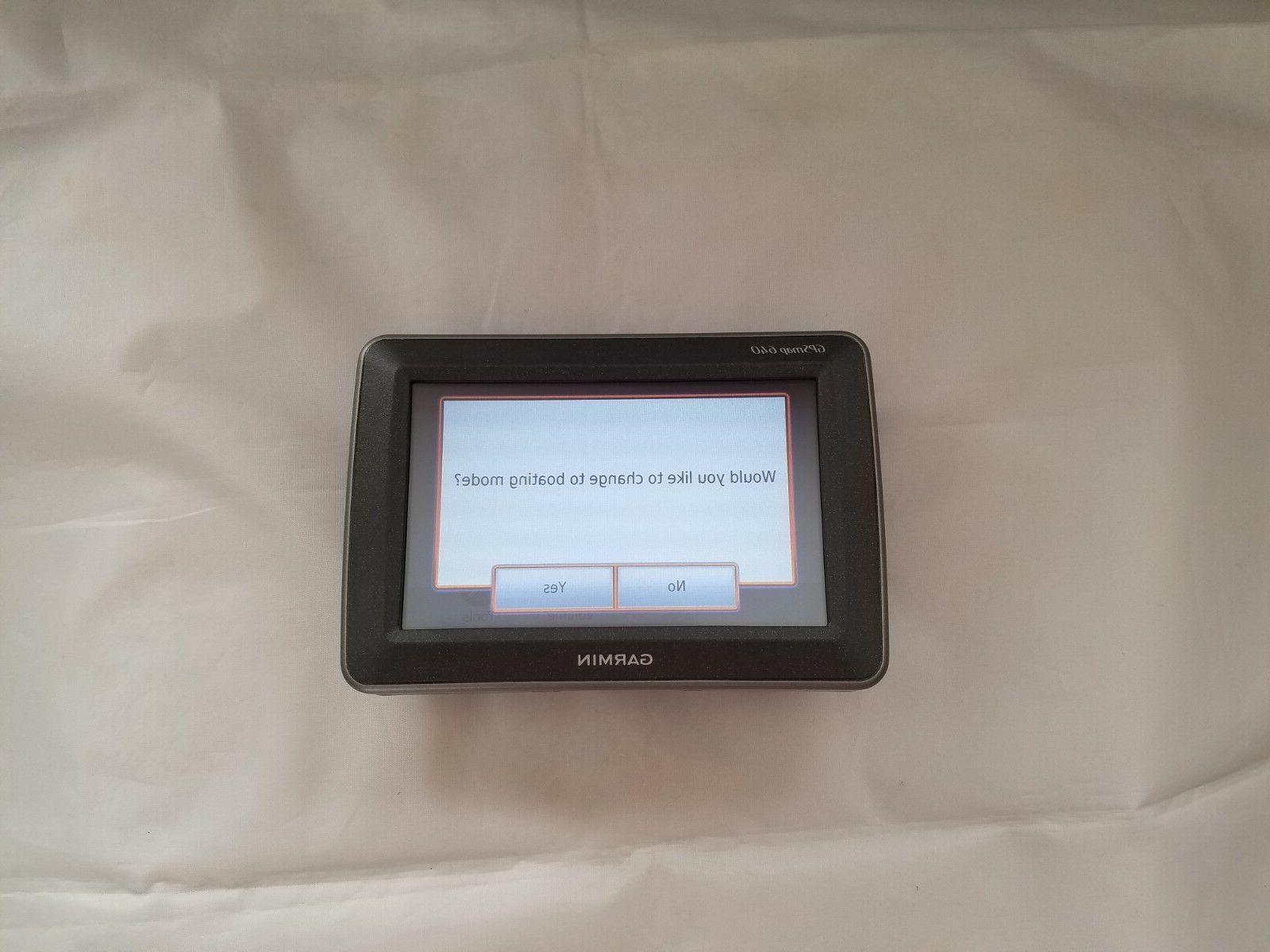 Garmin GPSMAP and Touchscreen