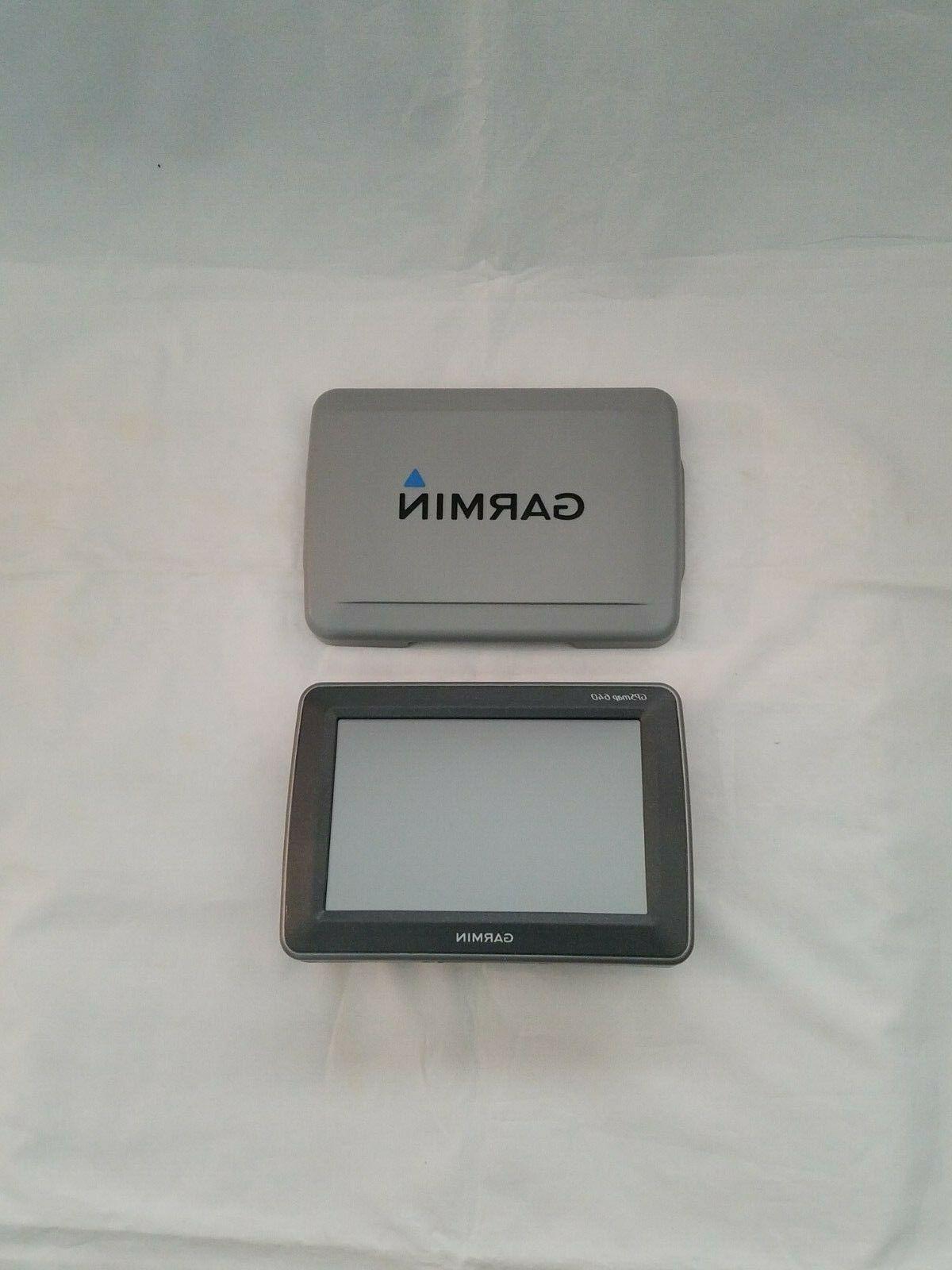 Garmin GPSMAP 640 Marine and Touchscreen