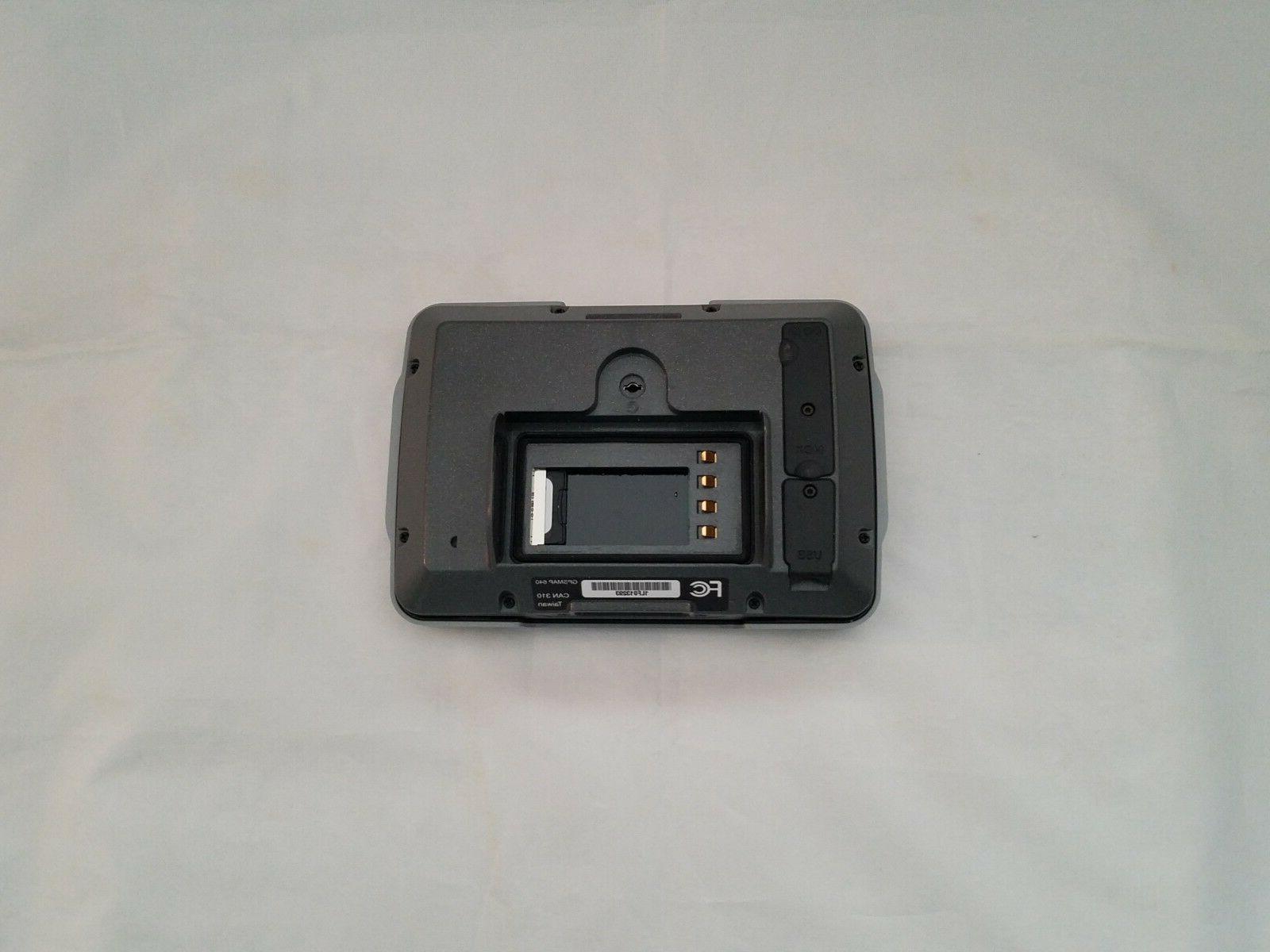 Garmin and Touchscreen