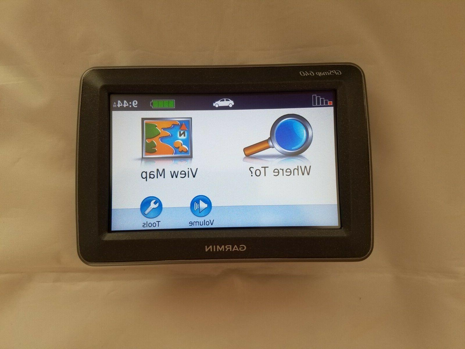 gpsmap 640 marine and automotive touchscreen gps