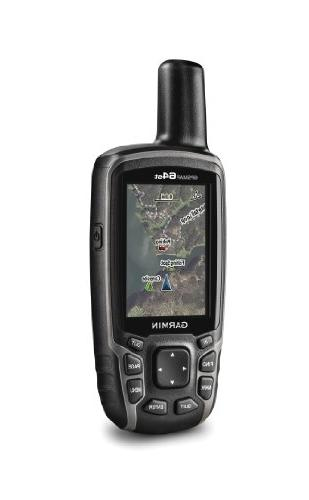 Garmin GPSMAP 64st, TOPO U.S. 100K with High-Sensitivity GPS and GLONASS