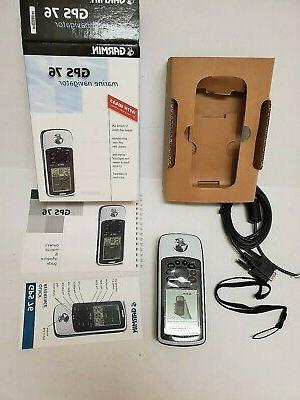 Garmin GPSMAP 76 Handheld GPS Marine Hiking - the Box
