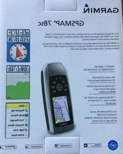 "Garmin GPSMAP Handheld 2.6"" Backlit"