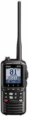 Handheld VHF Standard Horizon Marine Two Way Radios w/integr