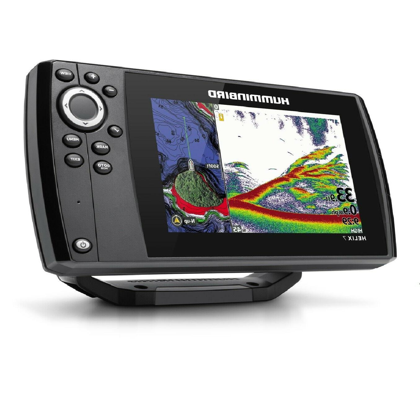 Humminbird Helix 7 CHIRP MDI GPS Down Image Finder