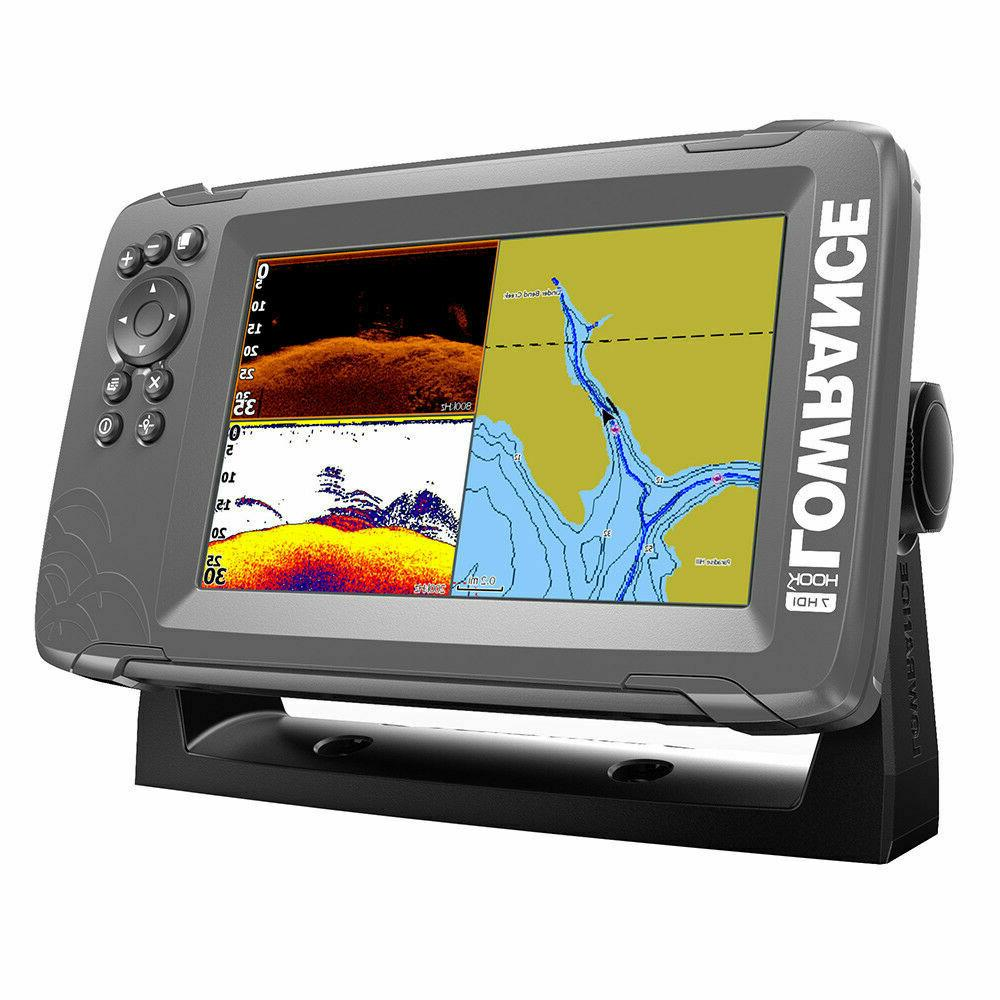 LOWRANCE Hook2-7 Splitshot HDI US Inland 000-14289-001