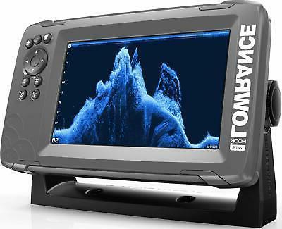 Lowrance 7X 7-inch SplitShot Transducer GPS Plotter