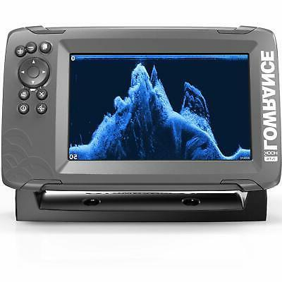 Lowrance 7-inch Finder SplitShot Transducer and Plotter