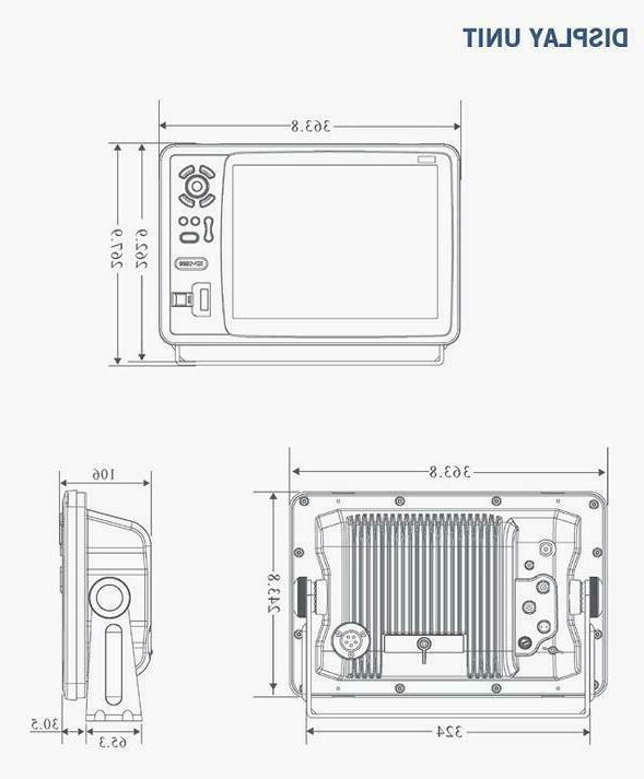 Matsutec 12 Color LCD Marine GPS Chartplotter