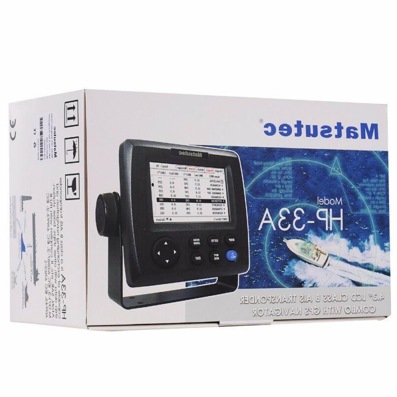 Matsutec LCD B AIS Transponder