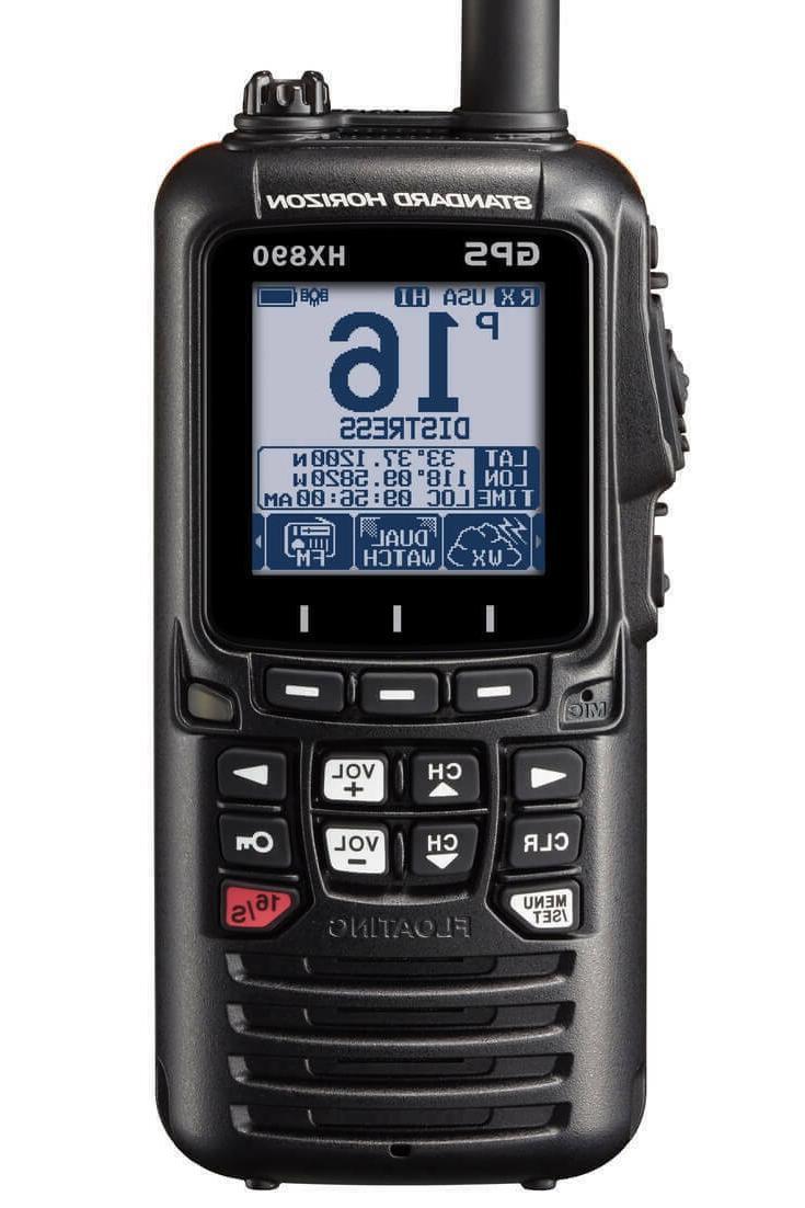 hx870 floating 6w handheld vhf radio