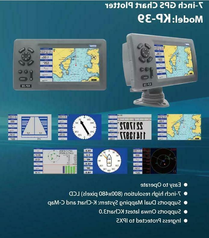 KP-39 Marine GPS Support K-chart and C-map SD
