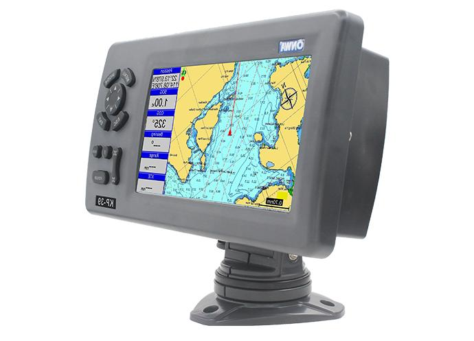 KP-39 7 inch Marine GPS Plotter Support K-chart and SD Card
