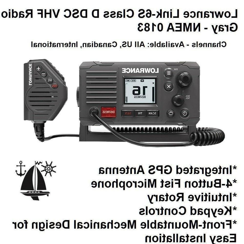 link 6s class d dsc vhf radio