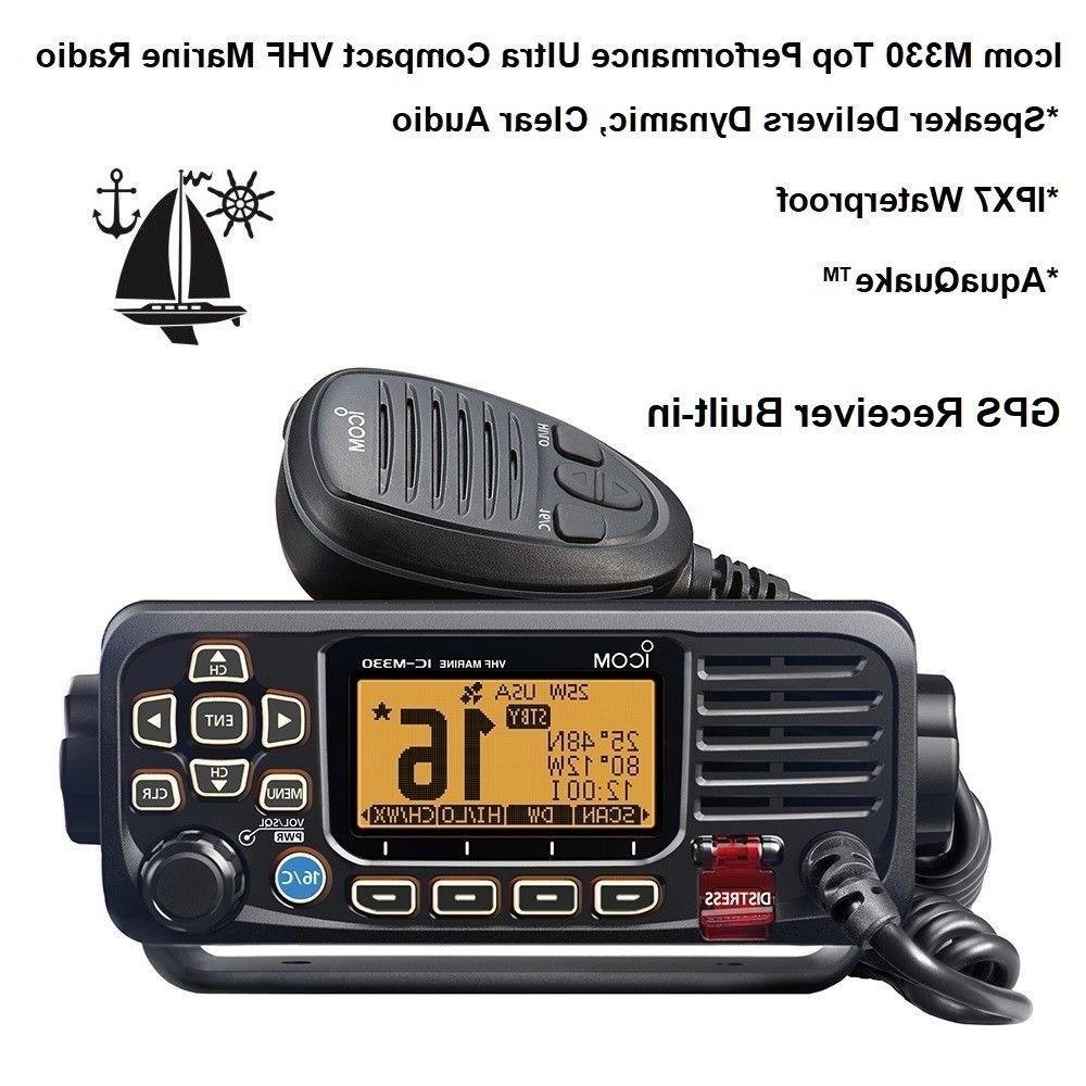 m330 gps receiver built in vhf marine