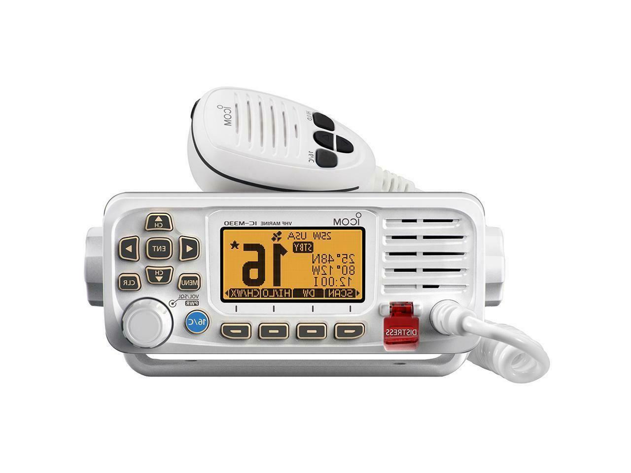 m330 vhf marine boat radio radio fixed