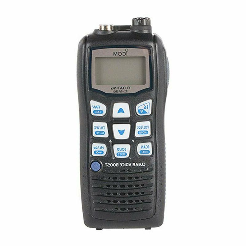 m36 01 floating handheld 6w marine radio