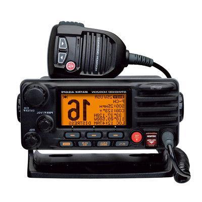 Standard Mount VHF GPS - Class D DSC Black