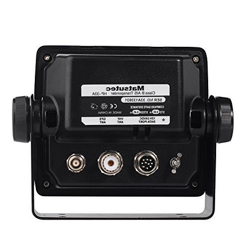 Matsutec HP-33A Color LCD Class AIS Transponder Combo High GPS