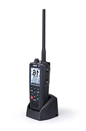 Uniden MHS335BT D Handheld VHF Marine Radio Text Directly Other Text Capable IPX8 Design