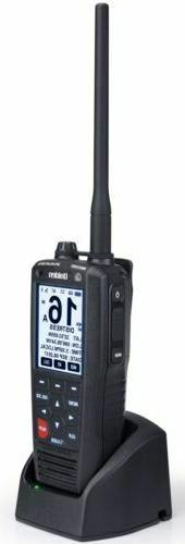 Uniden MHS335BT 6W Class D Floating Handheld VHF Marine Radi