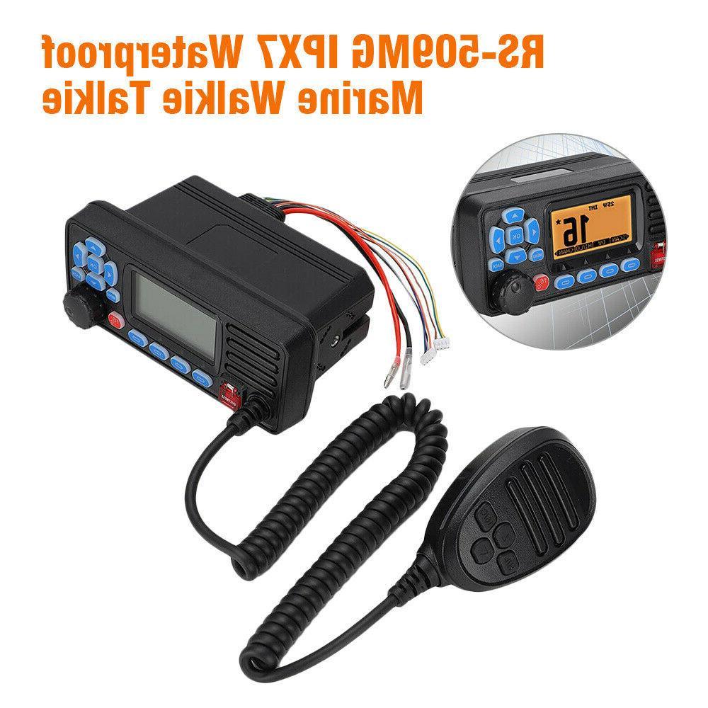 Mini Boat Ham Mobile Radio Walkie GPS GNSS