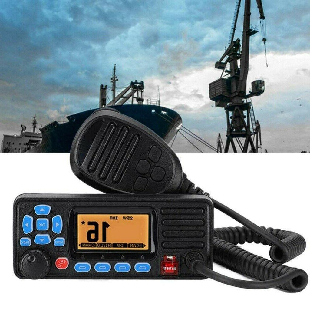 Mini IPX7 Boat Two-way Ham Radio w/ GPS