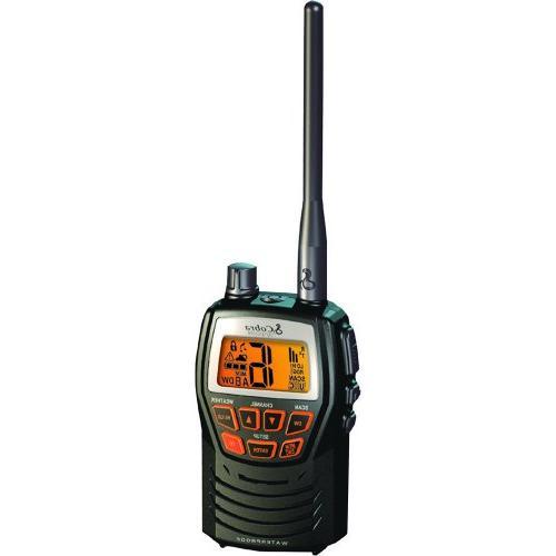 COBRA MR-HH125 3W WATERPROOF - HANDHELD VHF COBRA MR-HH125 3