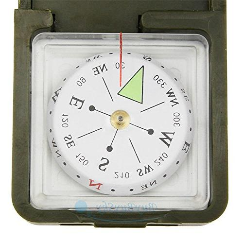Multifunction 10 Outdoor Military Camping Hiking Survival Compass