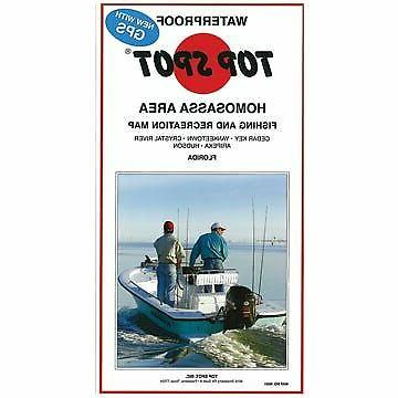 Top Spot N208 Map- Middle Key Long Key To Boca Chica Key LOR
