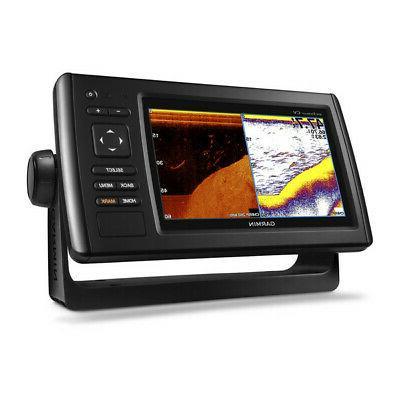New Garmin 74cv GPS Fishfinder/Chartplotter w/