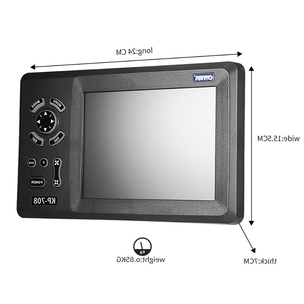 ONWA LCD with Built-in AIS Transponder <font><b>Marine</b></font>