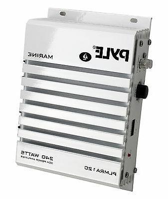 plmra120 waterproof marine car amplifier