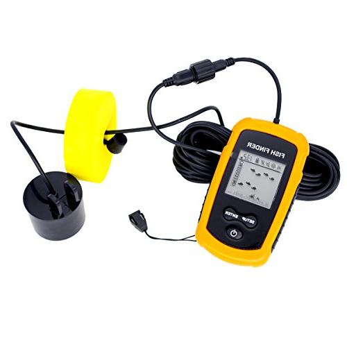 Venterior VT-FF001 Portable Sonar Transducer LCD Display