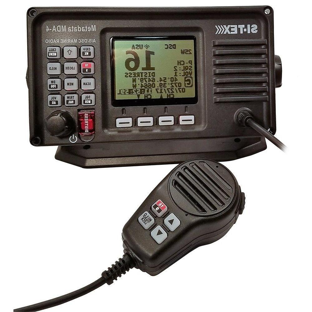Sitex Mda-4 Vhf-Fm Dsc Radio With Built-In Ais