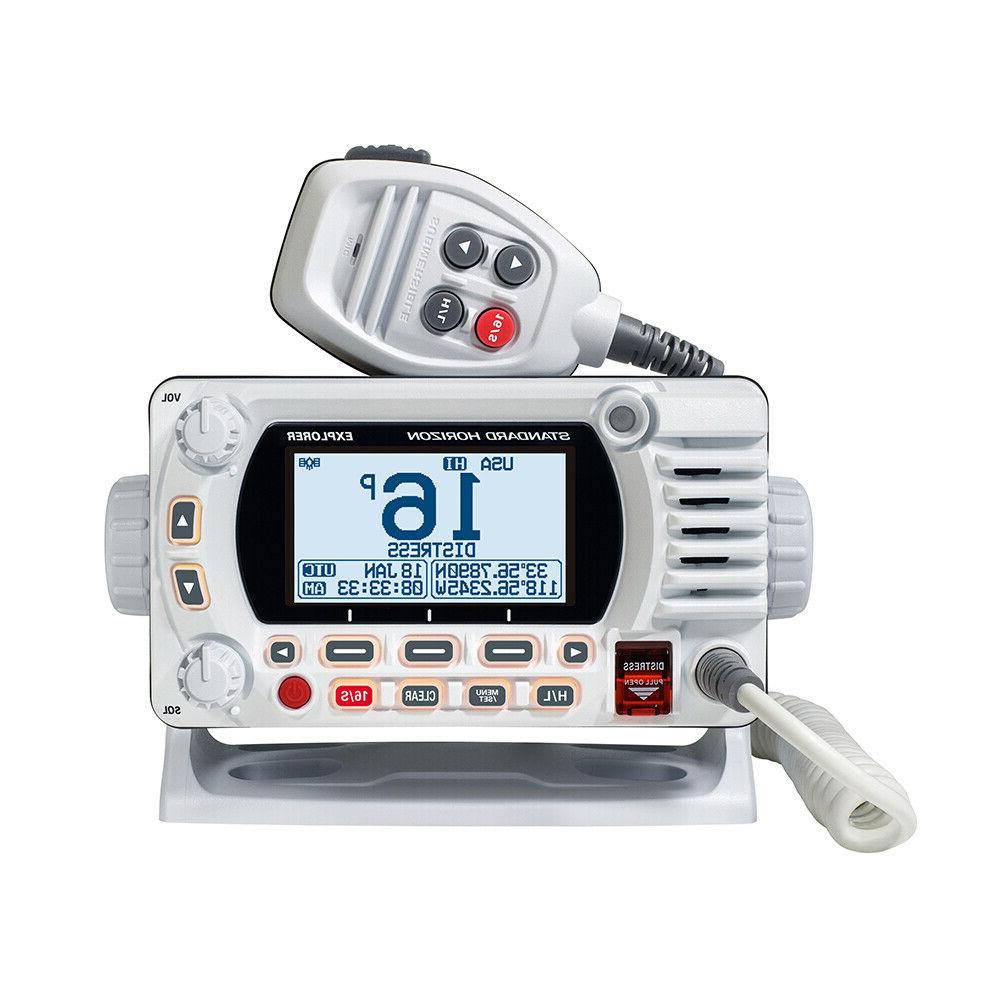 Marine Radio With 5W White