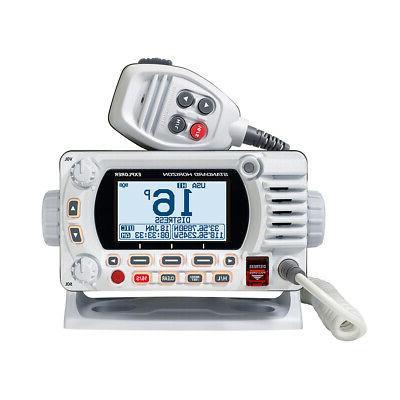 standard explorer gx1850gw vhf marine radio
