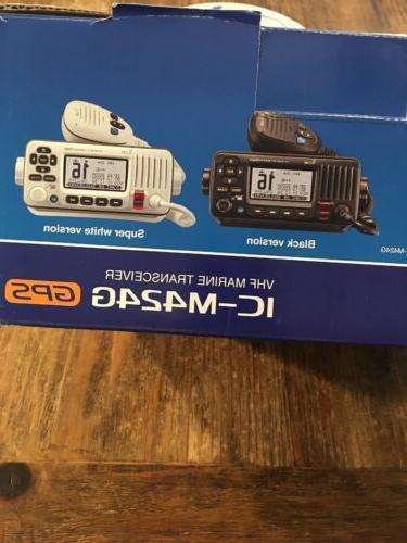 ICOM VHF Marine Transceiver IC-M424G GPS NIB