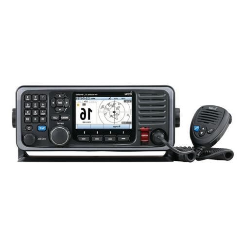 vhf marine transceiver m605 fixed mount vhf